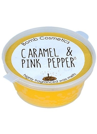 Bomb Cosmetics Caramel & Pink Pepper Mini Melt Oda Kokusu Renkli